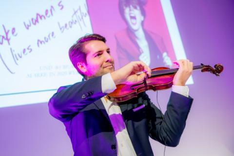 Geigenspieler für Ihr Event mieten